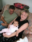 Me, Uncle Tom & Aunt Doyla @ 4.5 months