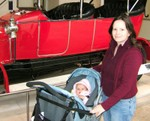 Me & Mum @ National Museum of Scotland @ 4.5 months