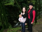 Hiking to Ariel Falls w/ Mum & Beth @ 5 months