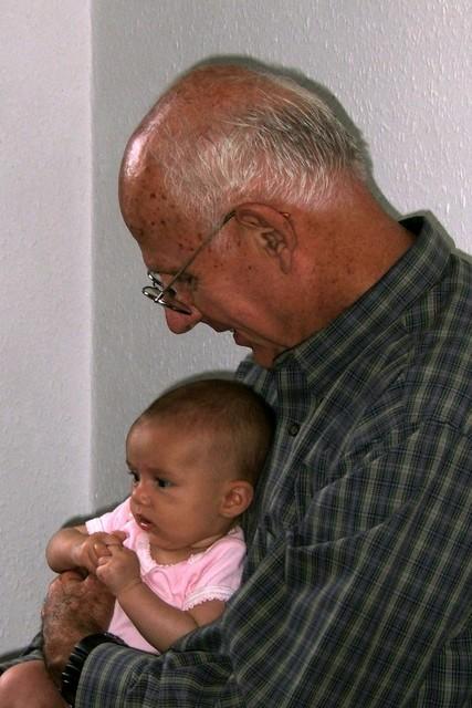Me & Grandpa @ 3 months